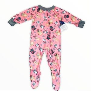 Toddler Girls 3-6M Footed Pajamas Coverall NEW NWT